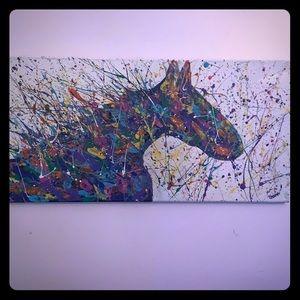 Acrylic painting!!